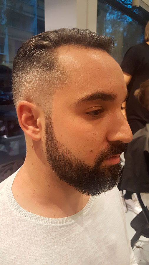 Homme barbe - Coupe barbe homme ...